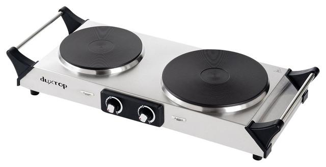 Duxtop 1800w Portable Electric Cast Iron Cooktop