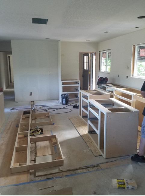 RALEIGH HILLS WHOLE HOUSE REMODEL