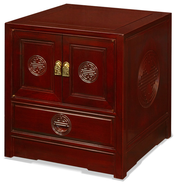 China Furniture and Arts Rosewood Longevity Design Cabinet - Furniture | Houzz