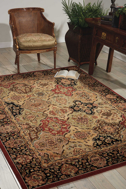 """Kathy Ireland Home Lumiere Persian Tapestry Rug, Multicolor, 2'3""""x7'9"""" Runner"""
