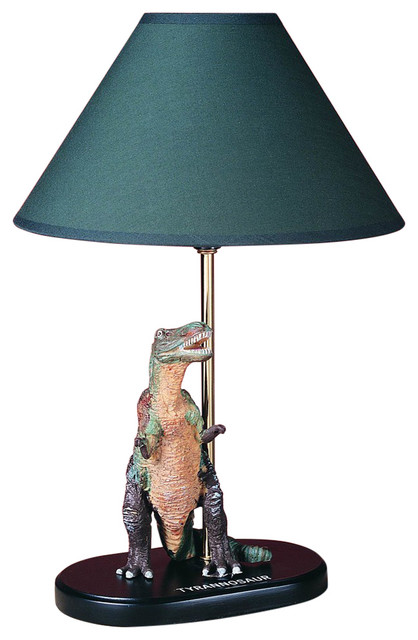 60W TYRANNOSAUR DINOSAUR LAMP contemporary-table-lamps - Cal Lighting - Cal Lighting BO-5616 60 Watt 15