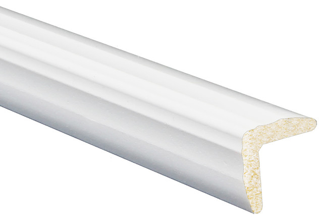 Inteplast Building Products Polystyrene Outside Corner Moulding Set Of 5 15 16 X15 16 X96