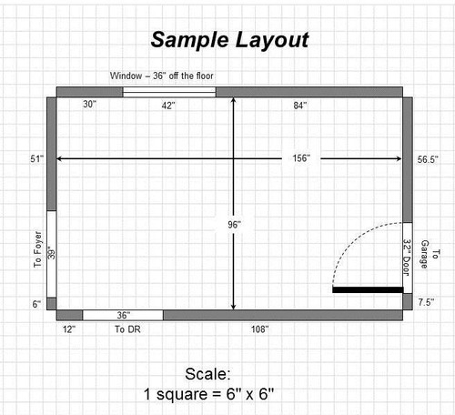 Kitchen Layout Help
