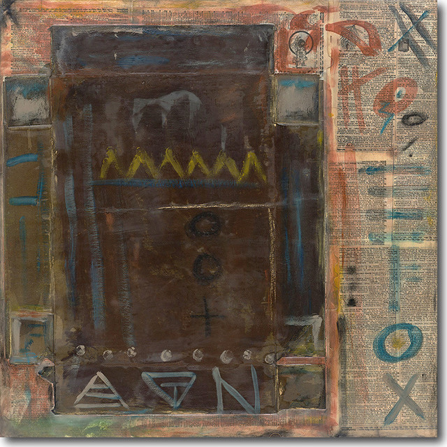 """warrior"" Artwork By Nj Weaver, 30""x30""."