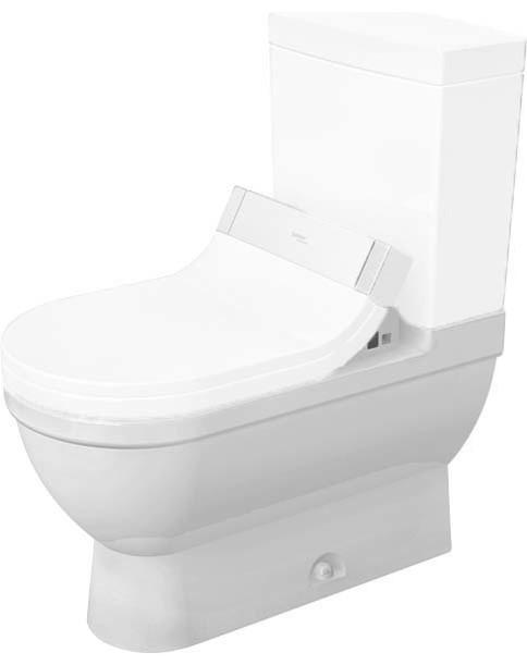 Duravit Starck 3 Floor Mounted Toilet Bowl For Sensowash Single Flush White Contemporary Toilets By Buildcom