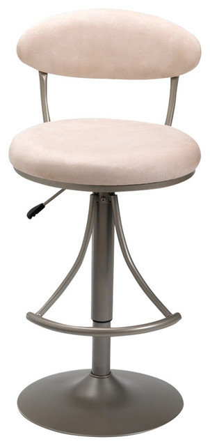 Hillsdale Furniture Venus Swivel Barstool With Fawn