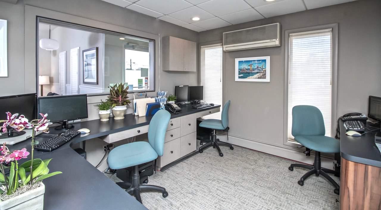 Dental Office Renovation - Reception