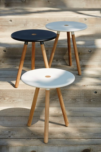 Area Side Table / Stool By Welling / Ludvik For Cane Line Scandinavian Side