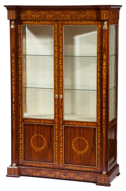 Consigned Vintage Italian Neoclassical Display Cabinet ...