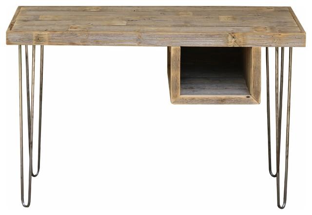 Industrial Cubby Desk.