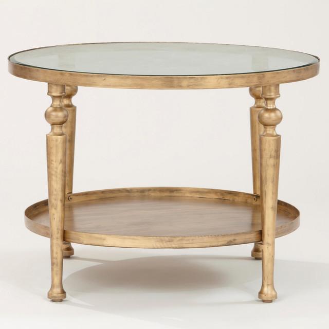Cost Plus Industrial Coffee Table: Chiara Coffee Table