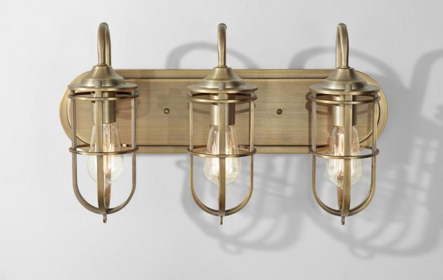 Vanity Lights Industrial : Shop Houzz Feiss - Monte Carlo Feiss Urban Renewal Bathroom Vanity Lights - Bathroom Vanity ...