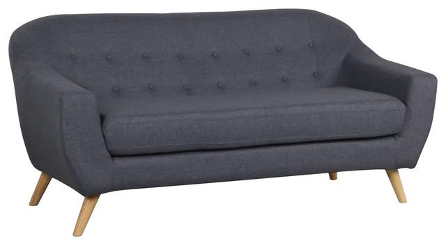 Coushto Sofa, 3 Seater, Dark Grey