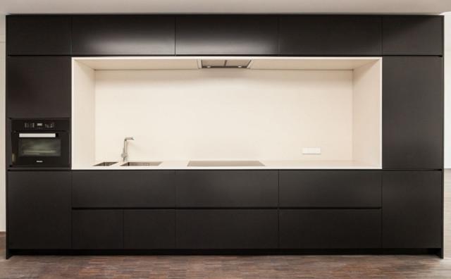 Küchen Schwarz Matt Modern