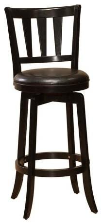 Hillsdale Furniture 4478-826 Presque Isle Counter Stool, Black