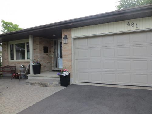 Should side garge door match front door for Garage side door and frame