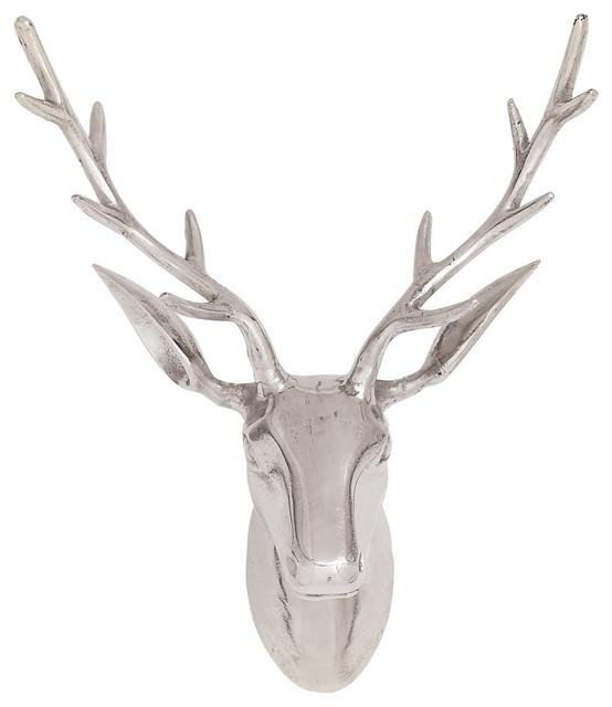 Noah Aluminum Reindeer Head Sculpture.