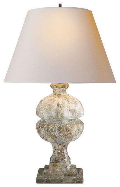 Alexa Hampton Desmond Table Lamp, Garden Stone.