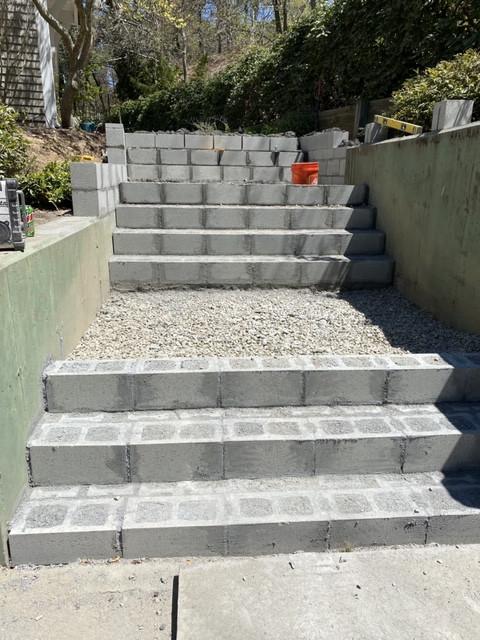 J&J Chatham stone steps