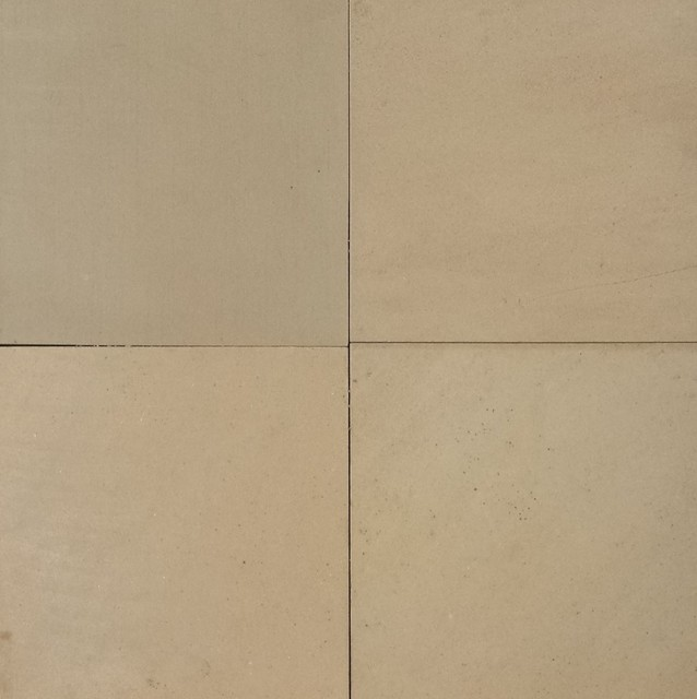 Buck Skin Sandstone Tiles Honed Finish Contemporary Wall And