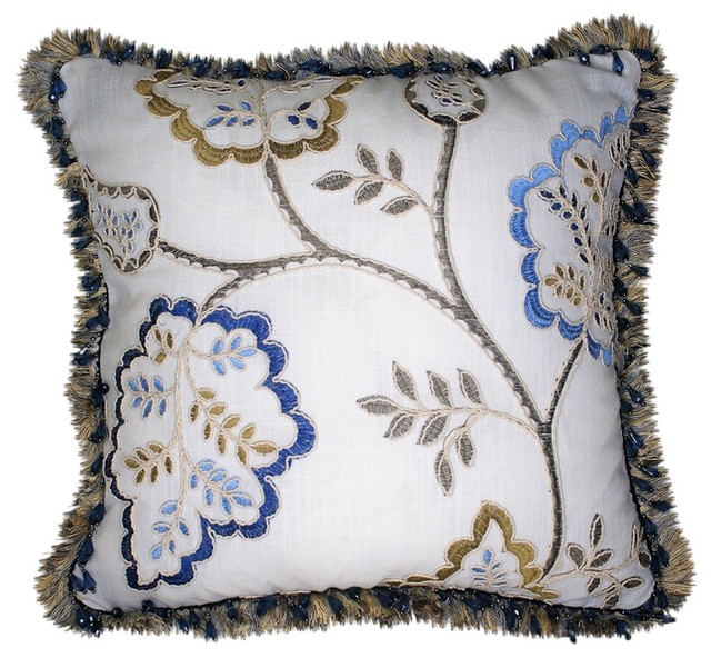Blue And Gold Throw Pillows Home Ideas