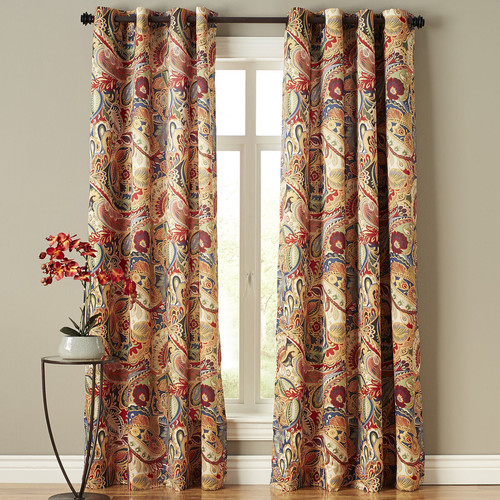 What Color Curtains Goes With Red Walls Curtain