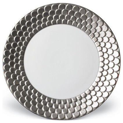 porcelain dinner plate - contemporary - dinner plates -lcrwestport