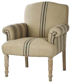 Rana Club Chair By Zentique Farmhouse Armchairs And