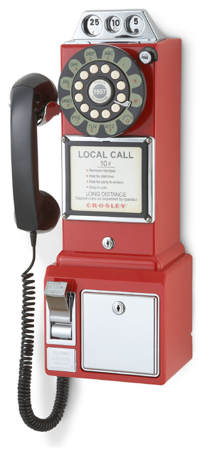 1950's Payph1, Red