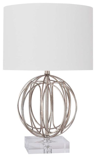Regina andrew design ofelia table lamp silver contemporary table lamps