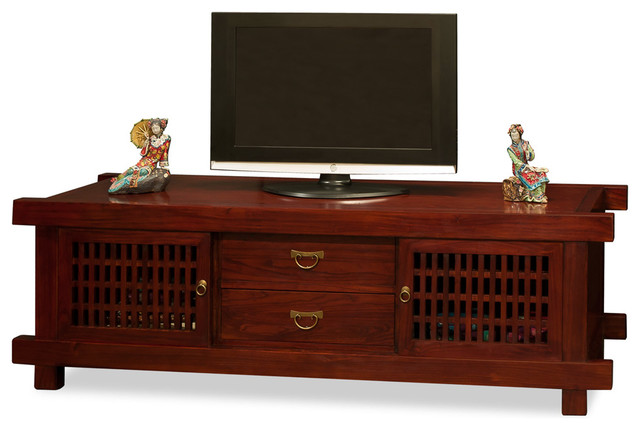 Japanese Shinto Media Cabinet - Asian - Media Cabinets - by China ...