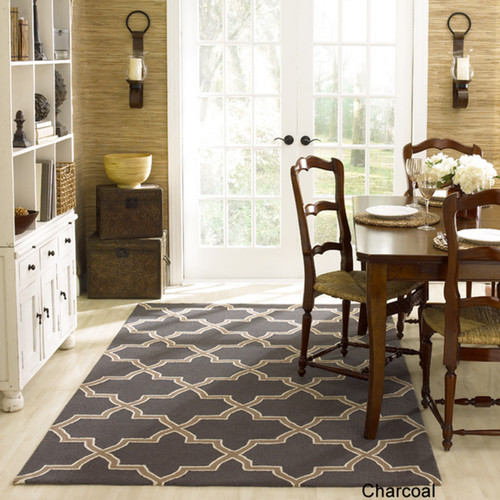 Need help coordinating area rugs for my open concept for Carpet for dining room