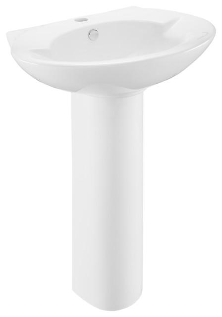 Plaisir Rounded Basin Pedestal Sink