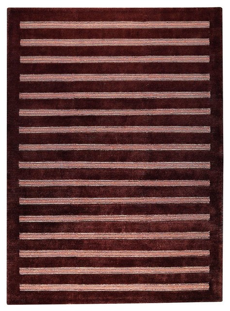 Contemporary cisco hallway runner 2 39 8 x7 39 10 runner brown for Contemporary runner rugs for hallway