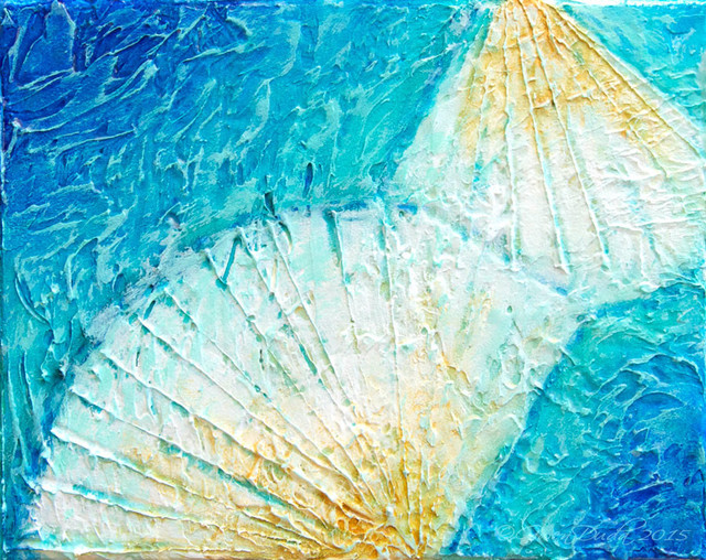Gwen Duda Studios Seashells By The Sea Shore 8 Quot X10