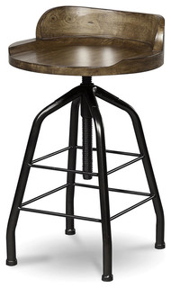 Universal Great Rooms Potter's Stool, Hickory Stick