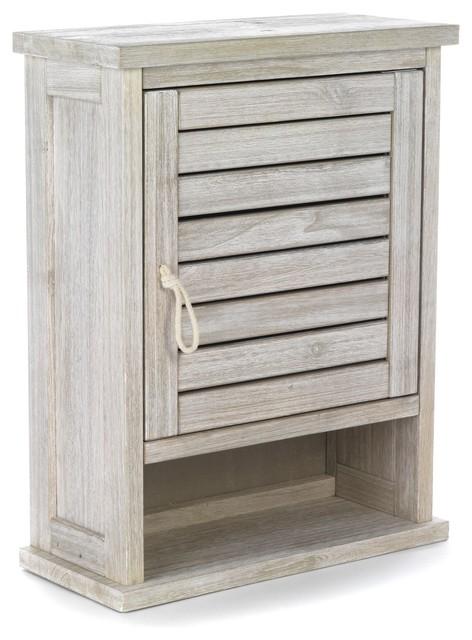 Marine bain meuble de salle de bains haut 1 porte bord for Meuble wc alinea
