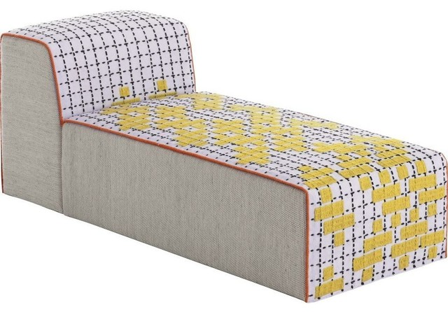 Gan Bandas Chaiselongue C, Yellow.
