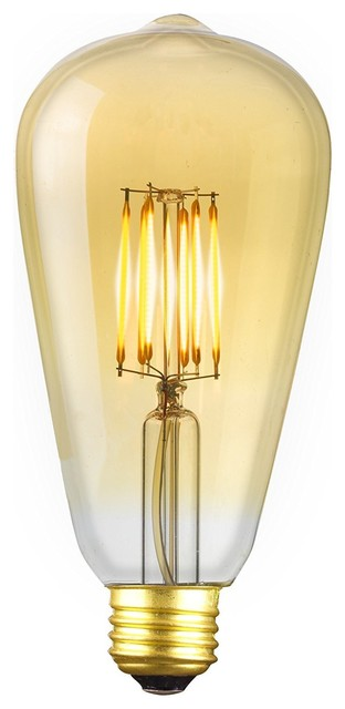 shop houzz revel led 6 5w dimmable vintage edison light. Black Bedroom Furniture Sets. Home Design Ideas