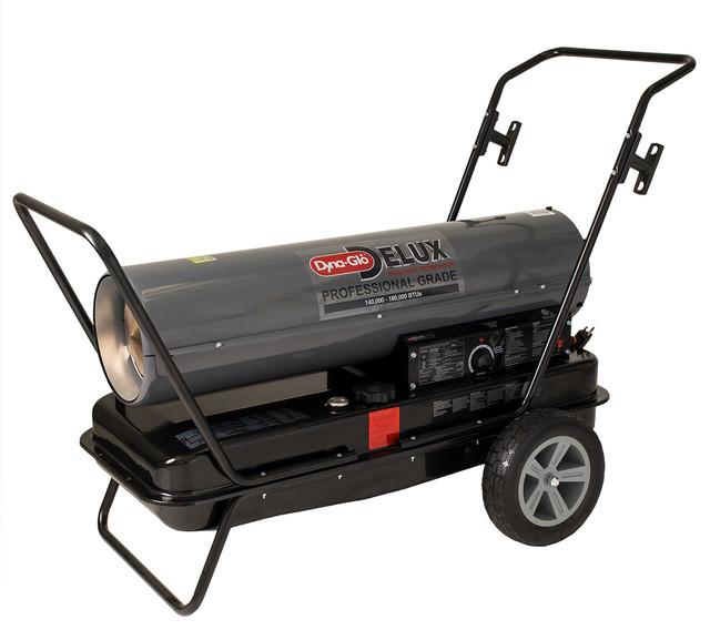 Dyna-Glo Delux 140,000 Or 180,000 Btu Kerosene Forced Air Heater.