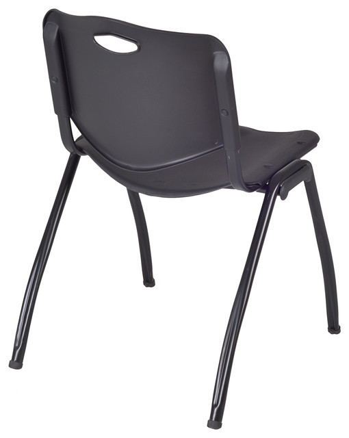 M' Stack Chair, Black