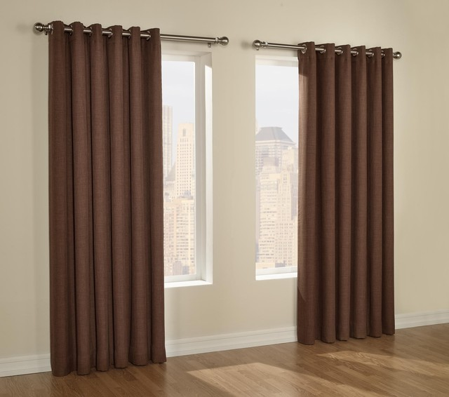 Curtain Rods For Grommet Panels Curtains Design Gallery