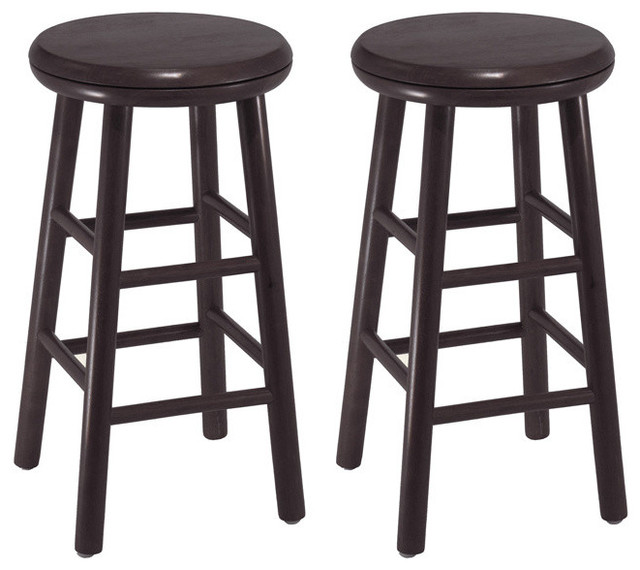 winsome wood set swivel kitchen stools assembled transitional bar 24 counter cheap with arms