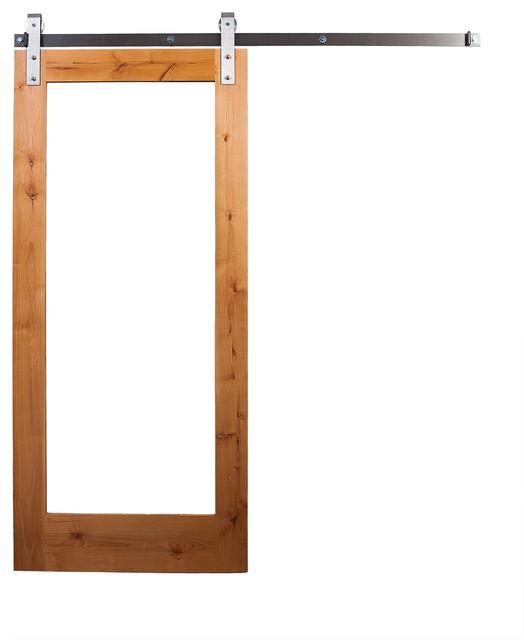 Rustica Hardware Mirror Sliding Door With Barn Door Hardware Rustic Interior Doors By