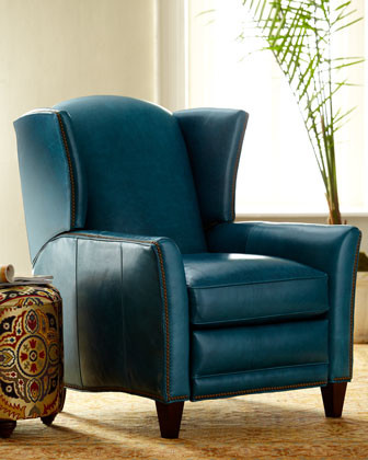 Porter Leather Recliner traditional armchairs