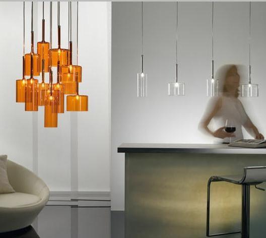 Hgtv Home Cassandra Blown Glass Mini Pendant Modern: SPILLRAY GROUPED PENDANT LAMP BY AXO LIGHT