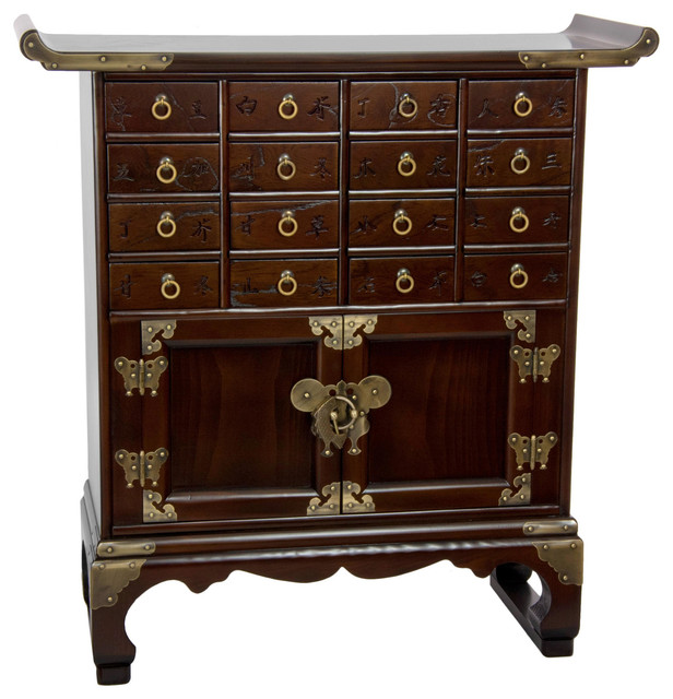 Korean Antique Style 16 Drawer Medicine Chest asian dressers. Korean Antique Style 16 Drawer Medicine Chest   Asian   Dressers