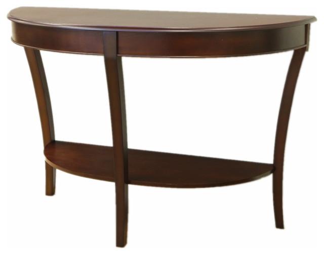 Half Round Sofa Table