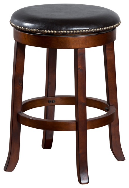 Cappuccino Swivel Stool 24quot Traditional Bar Stools  : traditional bar stools and counter stools from www.houzz.com size 438 x 640 jpeg 52kB