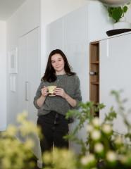В гостях: 35 кв.м — скандинавская студия с дизайнерским светом